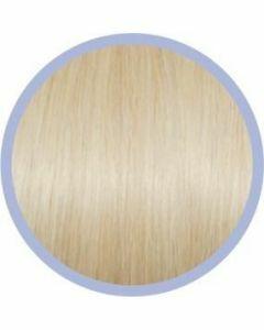Seiseta Microring Extensions - 50cm - natural straight - #1001