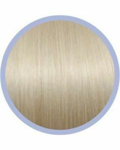 Euro So. Cap. Flat Ring-On Extensions Extra Zeer Licht Asblond 1004 10x50-55cm