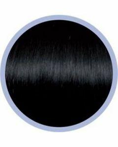 Seiseta Microring Extensions - 50cm - natural straight - #1B