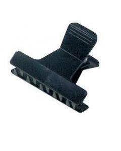 Afdeelklemmen plastic zwart klein 12 stuks