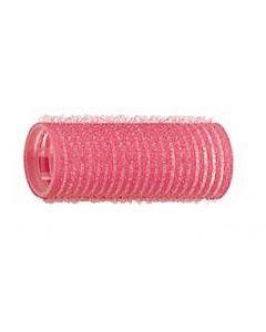 Kleefrollers - roze 25mm 12 stuks