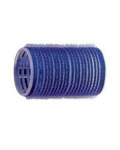 Kleefrollers - blauw 40 mm 12 stuks