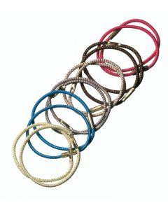 Pony-tail elastiekjes middel 12 stuks