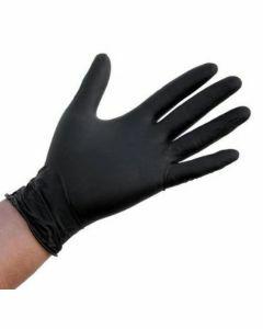 Abena Nitril-Handschoenen Classic poedervrij Maat XL zwart 100st