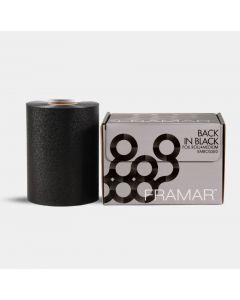 Framar Back in Black Embossed Medium Aluminiumfolie Zwart