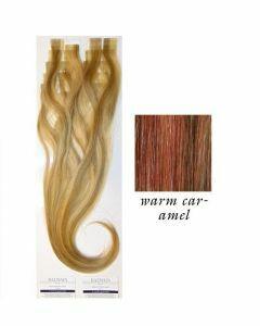 Balmain Tape Extensions Easy Length Warm Caramel 55cm