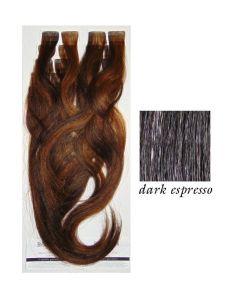 Balmain Tape Extensions Easy Volume Dark Espresso 40cm