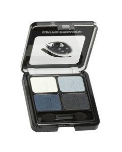 Christian Faye Quattro Eyeshadow blue 5,2gr
