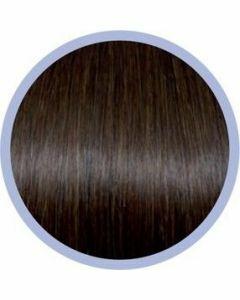 Seiseta Classic Extensions Chocoladebruin 6 10x40-45cm