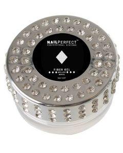 NailPerfect Fiber Gel Mellow White 14gr