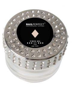 NailPerfect Fiber Gel Soft Pink 45gr