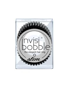 Invisibobble SLIM true black 3st