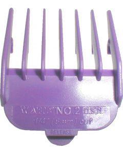 Wahl Opzetkam nr. 2 plastic violet 6mm