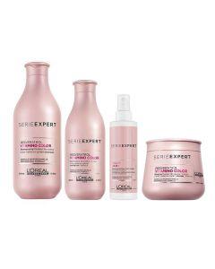 Gekleurd haar pakket L'Oréal Serie Expert Vitamino Color