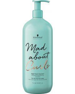 Schwarzkopf Mad About Curls High Foam Shampoo 1000ml