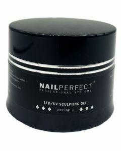 NailPerfect LED UV Sculpting Gel Crystal II