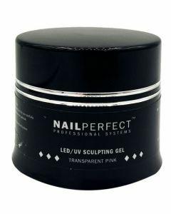 NailPerfect LED UV Sculpting Gel Transparent Pink