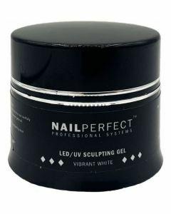 NailPerfect LED UV Sculpting Gel Vibrant White