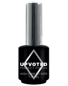 NailPerfect Upvoted high shine no wipe top gel 15ml
