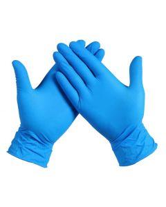 Nitril-Handschoenen Best Gen Ongepoederd Maat L Blauw 100st