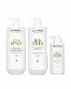 Droog haar pakket Goldwell Dualsenses Rich Repair XL