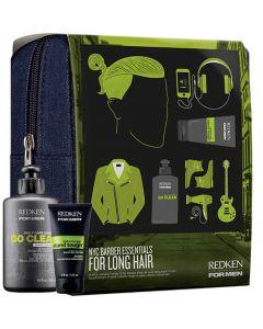 Redken For Men NYC Barber Essentials For Long Hair 300ml+150ml