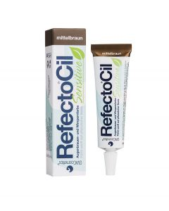 Refectocil Sensitive Wenkbrauwverf middenbruin 15ml