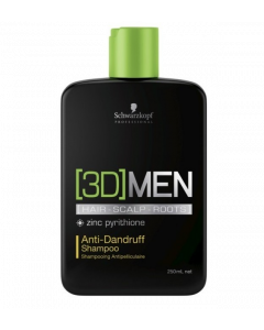 Schwarzkopf 3DMen Anti-Dandruff Shampoo 250ml