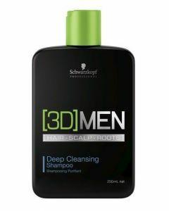 Schwarzkopf 3DMen Deep Cleansing Shampoo 250ml Outlet  250ml