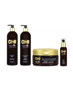 SOS CHI Argan Oil beschadigd haar pakket XL