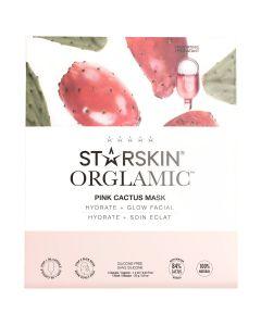 Starskin Orglamic Pink Cactus Mask