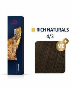 Wella Koleston Perfect Rich Naturals 4/3 60ml