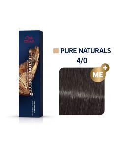 Wella Koleston Perfect ME+ Pure Naturals 4/0 60ml
