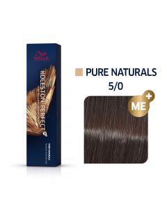 Wella Koleston Perfect ME+ Pure Naturals 5/0 60ml