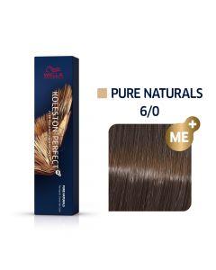Wella Koleston Perfect ME+ Pure Naturals 6/0 60ml
